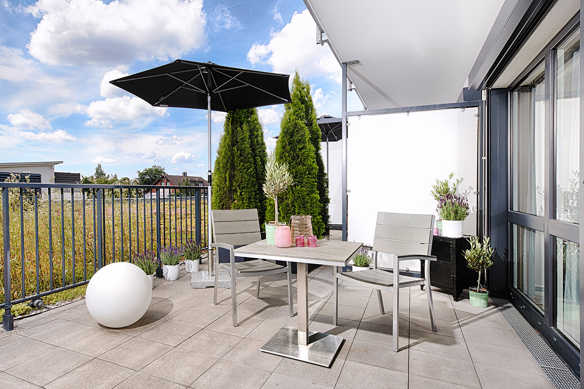 Business Apartment mit Terrasse