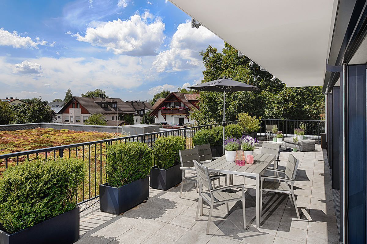 Luxury Apartment mit Terrasse