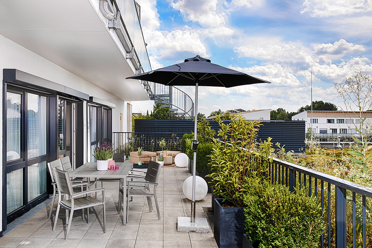 Suite Apartment mit Terrasse