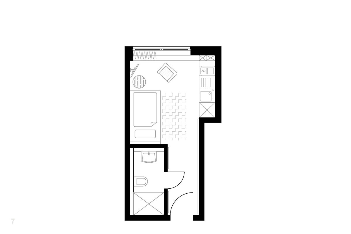 Single Apartment